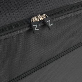"ZFrame 18"" Small 4 Double Wheel Super Lightweight Cabin Suitcase, 1.98 kg, 30 Litre, Black, 10 Year Warranty Thumbnail 5"
