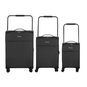 "ZFrame 18"" Small 4 Double Wheel Super Lightweight Cabin Suitcase, 1.98 kg, 30 Litre, Black, 10 Year Warranty Thumbnail 6"