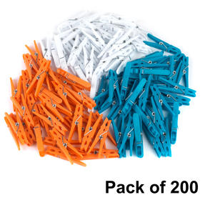 Beldray COMBO-4494 Ultra Grip Clothes Pegs, Pack of 200