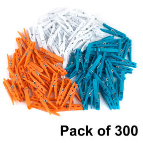Beldray COMBO-4497 Ultra Grip Clothes Pegs, Pack of 300