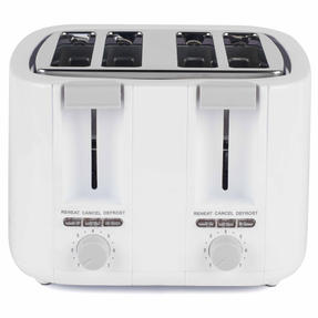 Progress EK3394P Four Slice Toaster with Variable Browning Control, 1500 W, White Thumbnail 4
