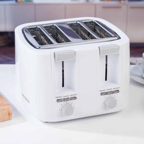 Progress EK3394P Four Slice Toaster with Variable Browning Control, 1500 W, White Thumbnail 7