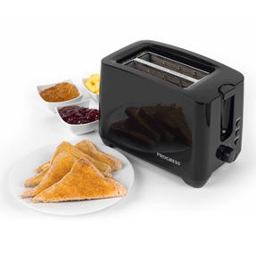 Progress EK3393BLKP Two-Slice Toaster With Slide-Out Crumb Tray, 750 W, Black Thumbnail 10