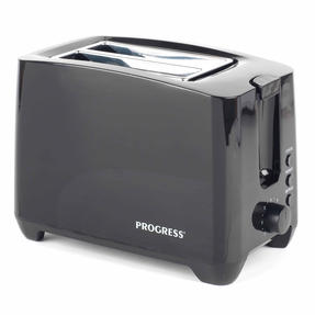 Progress EK3393BLKP Two-Slice Toaster With Slide-Out Crumb Tray, 750 W, Black Thumbnail 2