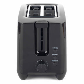 Progress EK3393BLKP Two-Slice Toaster With Slide-Out Crumb Tray, 750 W, Black Thumbnail 3