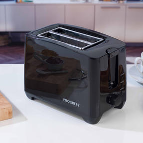 Progress EK3393BLKP Two-Slice Toaster With Slide-Out Crumb Tray, 750 W, Black Thumbnail 6