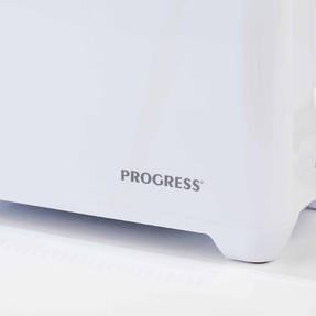 Progress EK3393P Two Slice Toaster with Slide-Out Crumb Tray, 750 W, White Thumbnail 11