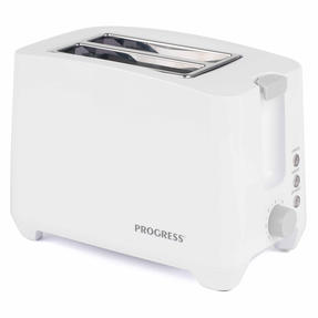 Progress EK3393P Two Slice Toaster with Slide-Out Crumb Tray, 750 W, White Thumbnail 2