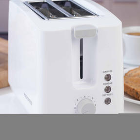 Progress EK3393P Two Slice Toaster with Slide-Out Crumb Tray, 750 W, White Thumbnail 8