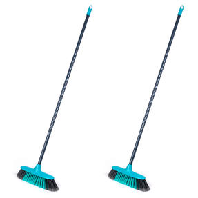 Beldray COMBO-4573 Sweepmax Cleaning Floor Brush Broom, Set of 2