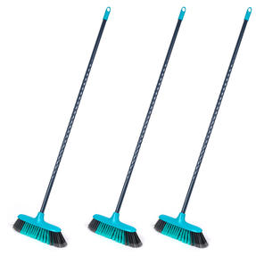 Beldray COMBO-4574 Sweepmax Cleaning Floor Brush Broom, Set of 3