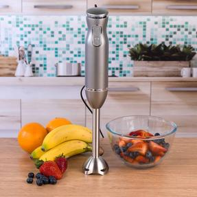 Salter Metallics Two-Speed, Easy Clean Hand Blender, 400 W, Titanium Thumbnail 3