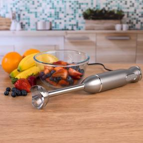 Salter Metallics Two-Speed, Easy Clean Hand Blender, 400 W, Titanium Thumbnail 4