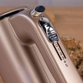 Salter Metallics Five Speed Hand Mixer, 250 W, Champagne Thumbnail 6