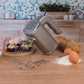 Salter Metallics Five Speed Hand Mixer, 250 W, Titanium Thumbnail 5