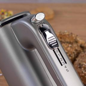Salter Metallics Five Speed Hand Mixer, 250 W, Titanium Thumbnail 7