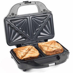 Salter XL 4-in-1 Snack Maker with Waffle, Panini, Toastie And Omelette Plates, 900 W  Thumbnail 7