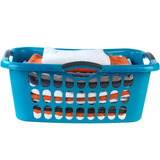 Beldray Hip Hugger Laundry Basket with Pack of 3 Radiator Clothes Airers, 3 Metre Drying Space Thumbnail 2
