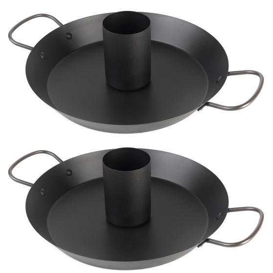 Jamie Oliver COMBO-4597 Get Inspired Non-Stick BBQ Chicken Roaster, 30 cm, Set of 2