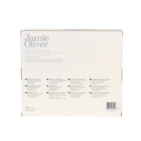 Jamie Oliver COMBO-4598 Get Inspired Non-Stick BBQ Chicken Roaster, 30 cm, Set of 3 Thumbnail 8