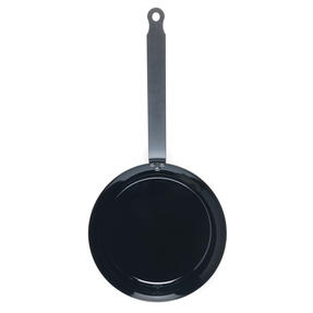 Jamie Oliver COMBO-4589 Get Inspired Heat Resistant Carbon Steel BBQ Frying Pan, 24 cm, Black, Set of 3 Thumbnail 5