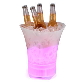 Intempo EE4938STKEU Bluetooth Ice Bucket Speaker With Colour Changing Lights, 10 W