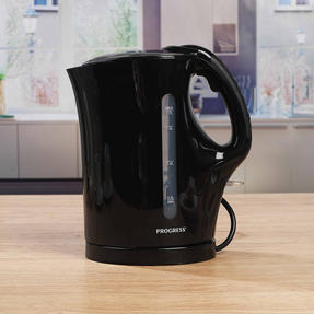 Progress EK3437BLKP 1.7 L Plastic Kettle with Soft Grip Handle, 2200 W, Black Thumbnail 6