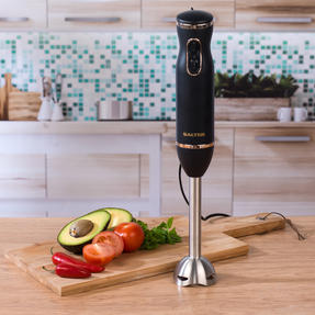 Salter Two-Speed Electric Immersion Hand Blender, 400 W, Rose Gold  Thumbnail 6