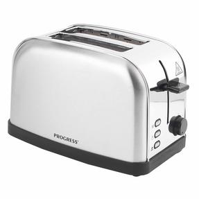 Progress EK2982SSP Classica 2-Slice Toaster with Variable Browning, 850 W, Stainless Steel/Black Thumbnail 10