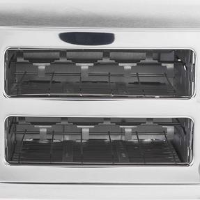 Progress EK2982SSP Classica 2-Slice Toaster with Variable Browning, 850 W, Stainless Steel/Black Thumbnail 11