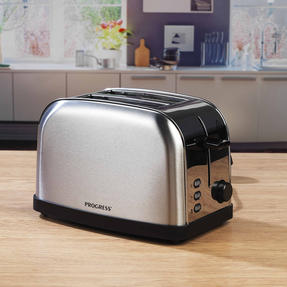 Progress EK2982SSP Classica 2-Slice Toaster with Variable Browning, 850 W, Stainless Steel/Black Thumbnail 12