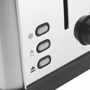 Progress EK2982SSP Classica 2-Slice Toaster with Variable Browning, 850 W, Stainless Steel/Black Thumbnail 7