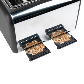 Salter Rose Gold 4-Slice Toaster, 1500 W, Rose Gold Thumbnail 6