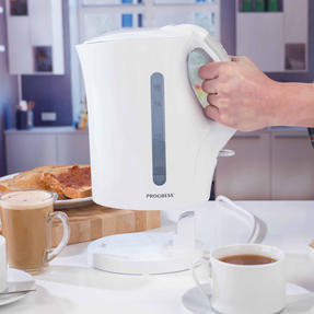 Progress COMBO-3654 1.7 Litre Immersed Kettle with Four Slice Toaster, White/Grey Thumbnail 11