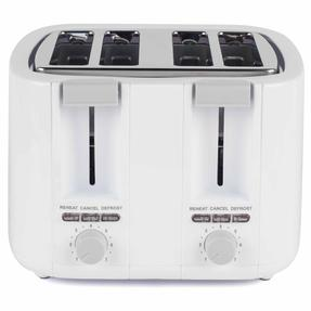 Progress COMBO-3654 1.7 Litre Immersed Kettle with Four Slice Toaster, White/Grey Thumbnail 5