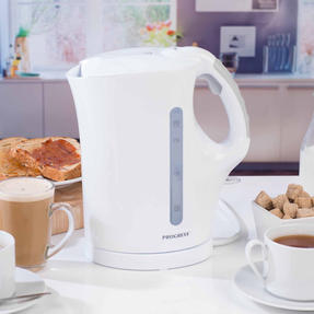 Progress COMBO-3654 1.7 Litre Immersed Kettle with Four Slice Toaster, White/Grey Thumbnail 7