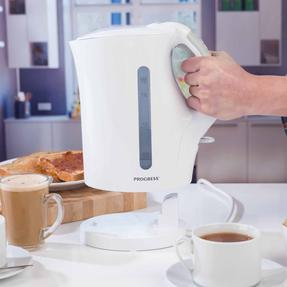 Progress COMBO-3655 1.7 Litre Immersed Kettle with Two Slice Toaster, White/Grey Thumbnail 11