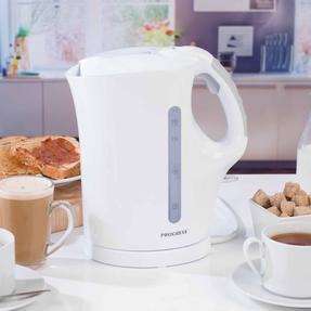 Progress COMBO-3655 1.7 Litre Immersed Kettle with Two Slice Toaster, White/Grey Thumbnail 7