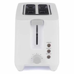 Progress COMBO-3655 1.7 Litre Immersed Kettle with Two Slice Toaster, White/Grey Thumbnail 8
