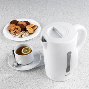 Salter EK2604 Electric Kettle With Removable Filter, 1.7 L, 2200 W, White Thumbnail 2