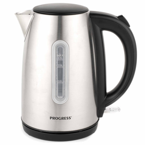 Progress 3000 W Classica Kettle, 1.7 L, Stainless Steel