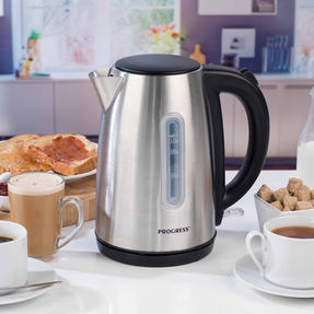 Progress EK3492SSP 3000 W Classica Kettle, 1.7 L, Stainless Steel Thumbnail 2