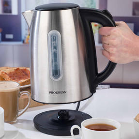 Progress EK3492SSP 3000 W Classica Kettle, 1.7 L, Stainless Steel Thumbnail 5
