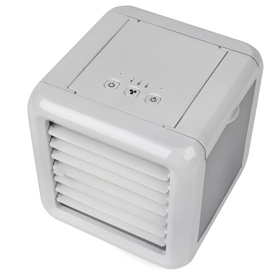 Prolectrix EH3139PROSTK Ice Cube Portable Table Top Air Cooler, 600ml, 5 W, White