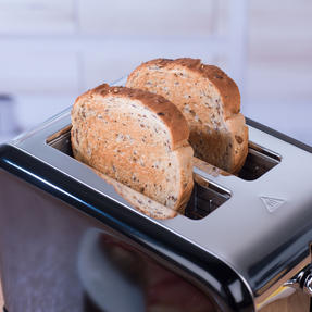 Salter Riga 2-Slice Toaster with Variable Browning, 815 W, Black/Stainless Steel Thumbnail 10