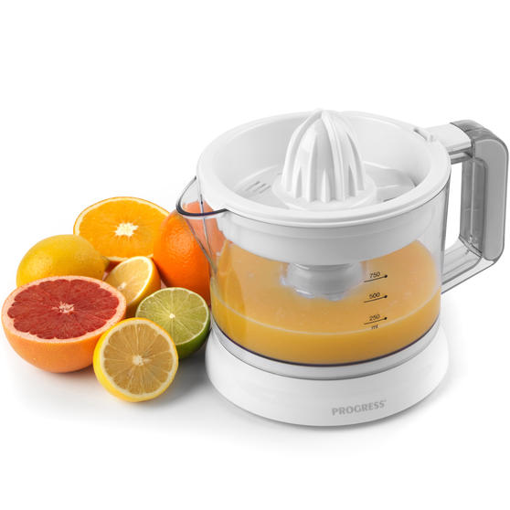 Progress Electric Citrus Juicer with Adjustable Pulp Filter, 25 W