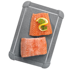 Salter Marblestone Non-Stick Defrosting Tray, Grey