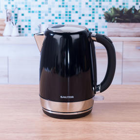Salter EK3491BLACK Riga Kettle with 3 kW power, 1.7 L, Black Thumbnail 11