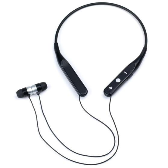Intempo EE4301BLKSTKEU Bluetooth Hands Free Neckband Earphones, Black
