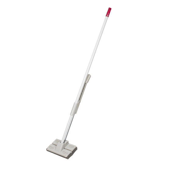White Self-Wringing Squeegee Mop with Refill Pad